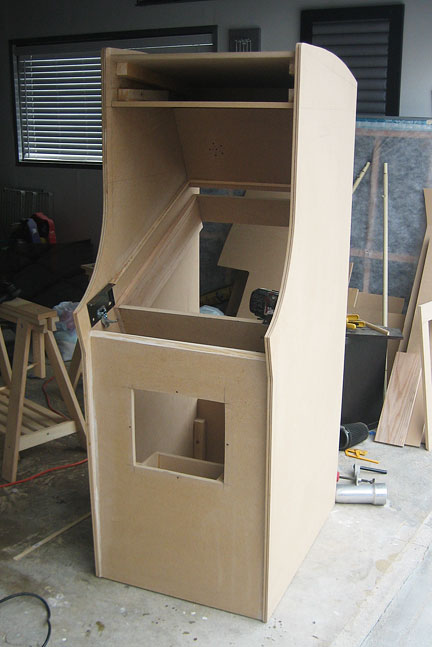 Woodmaking and geekery: Scratch building an arcade cabinet (56k go ...